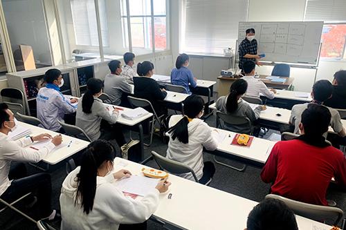 ベトナムから入国した外国人技能実習生